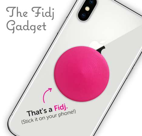Smartphone Fidget Spinner Attachments