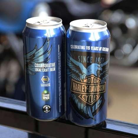 Motorcycle Brand Beers