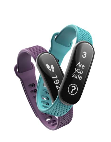 Safety Enhancing Fitness Tracker - The Tended Protect Sends Emergency Info in Case of Danger