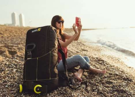 Transforming Backpacker Luggage