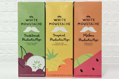 Probiotic Whey Pops - The White Moustache's Flavored Pops Make the Most of a Yogurt By-Product
