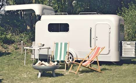 Open-Roof Aluminum Campers