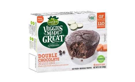 Veggie-Infused Chocolate Muffins