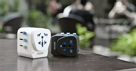 Grounded Global Travel Adapters