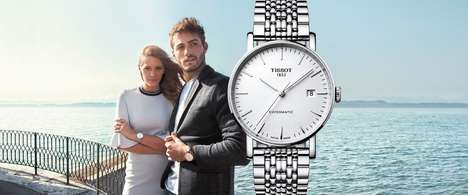 Timepiece E-Commerce Platforms - Tissot Watches are Now Readily Available to the Canadian Public