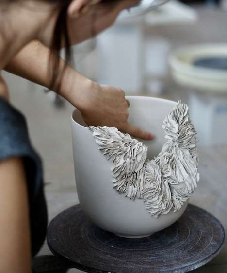 Coral Reef-Inspired Ceramics
