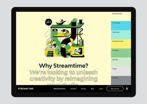 Creative Project Management Software - Streamtime is a Creativity-Focused App That Boosts Efficiency
