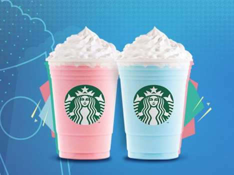 Creamy Candy-Flavored Drinks