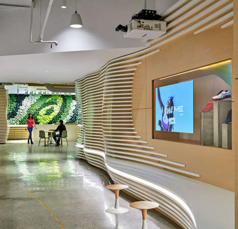 Welcoming Multifunctional Office Interiors - IA Interior Architects Designs a Modern Space for ASICS