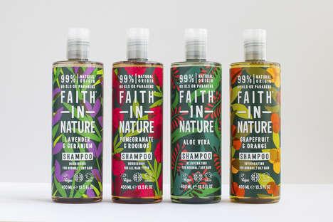 Vibrant Naturally Derived Shampoos