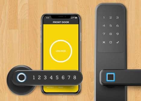 Biometric Encryption Door Locks