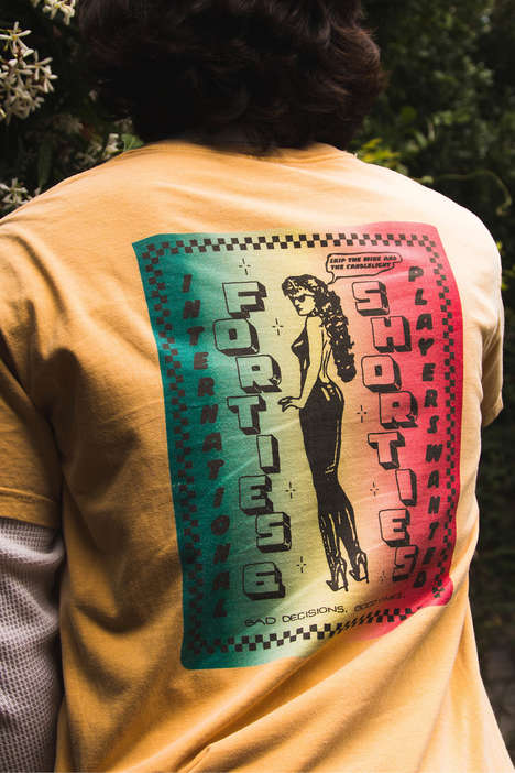 Graphic-Rich Faded T-Shirts