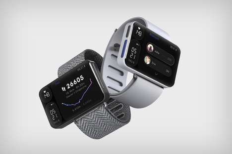 Triple-Screen Smartwatches