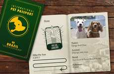 Travel-Friendly Pet Passports - Canvas Holidays Ranks the Miles Per Year Traveled by Furry Friends