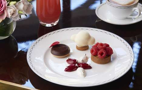 Jewelry-Inspired High Tea Experiences - The Peninsula Paris Hotel Will Combine Jewels and Dining