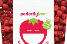 Allergy-Friendly Fruit Snacks - The Low-Sugar PerfectlyFree Fruit Bites Contain a Half Fruit Serving