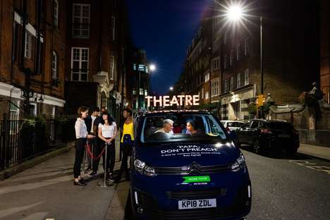 Theatrical In-Car Experiences - Insurance Company 'More Than' Showed a Live Play Inside of a Car