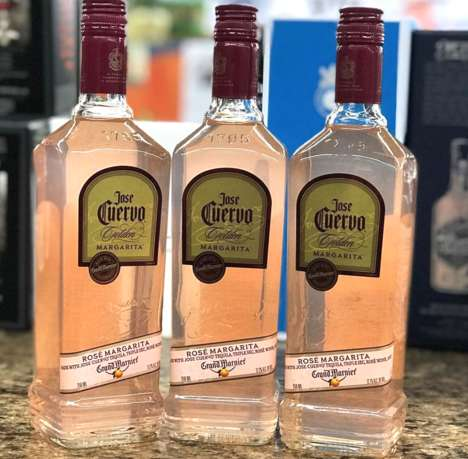 Rosé Margarita Mixers - Jose Cuervo's New Rosé Margarita Brings Together Two Summer Favorites