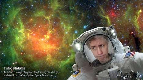 Interstellar Selfie Apps