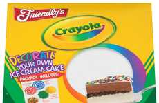 DIY Ice Cream Cakes - The Friendly's Crayola Ice Cream Cake is Made to Be Customized