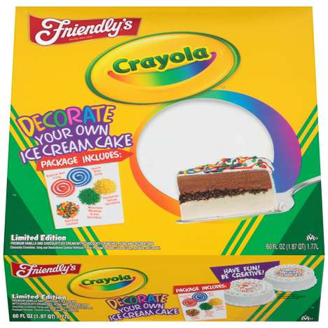 DIY Ice Cream Cakes
