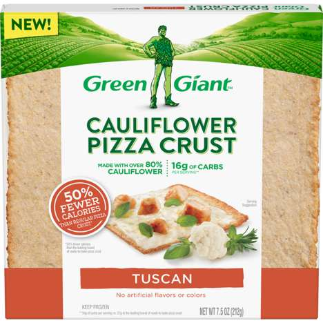 Spiced Cauliflower Pizza Crusts