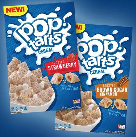 Toaster Pastry Breakfast Cereals