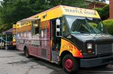 Breakfast Chain Food Trucks - The Waffle House Food Truck Brings the Restaurant to Consumers