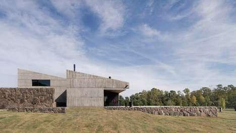 Argentinian Sloped Concrete Abode