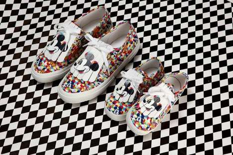 Vintage-Inspired Disney Sneakers - Superga Pays Tribute to Mickey Mouse and the Roaring 20s
