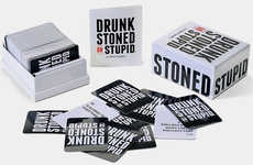 Humorous Player-Shaming Games - The Drunk, Stoned or Stupid Party Game is Perfect for Partygoers
