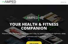 Holistic Health Recovery Apps - The 'AmpedRx' App is Focused on Physical and Mental Wellbeing