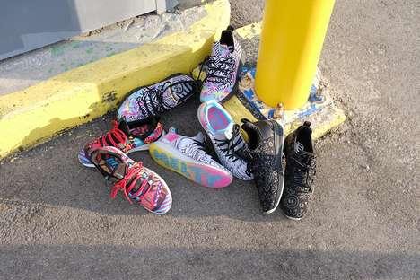 Global Artist-Designed Shoes
