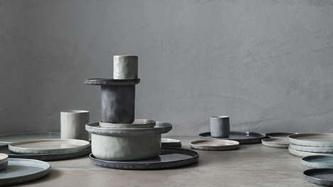 Hand-Painted Kitchen Ceramics
