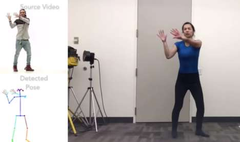 Deepfake Dancing Programs - Researchers at UC Berkley Have Developed Dance-Overlaying AI