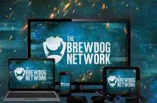 Craft Beer Networks - BrewDog Launched Its Own Beer-Centric TV Network and Subscription Service