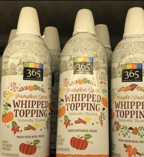 Pumpkin-Spiced Whipped Creams