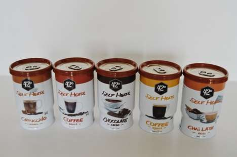 Innovative Self-Heating Coffee Cans