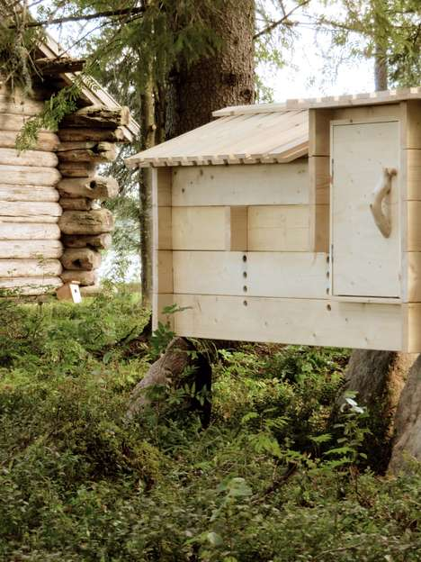 Traditionally Designed Chicken Coops