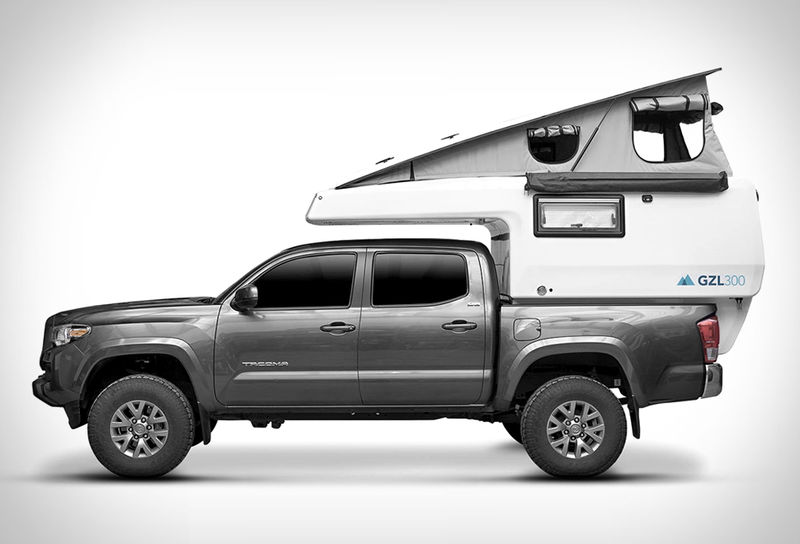 Expanding All-in-One Truck Campers