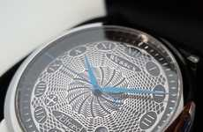 Engraved Dial Watches