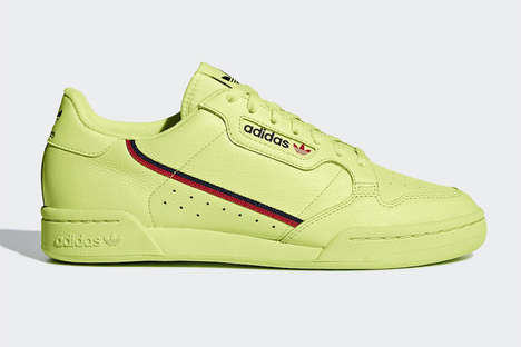 80s-Inspired Low-Cut Sneakers