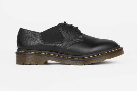 Re-Interpreted Smooth Leather Shoes