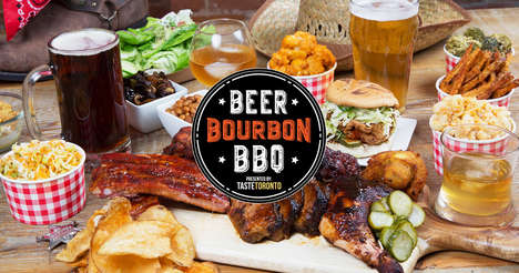Tasty Summer BBQ Fests - The Beer, Bourbon & BBQ is a Social Experience That Celebrates Cooking
