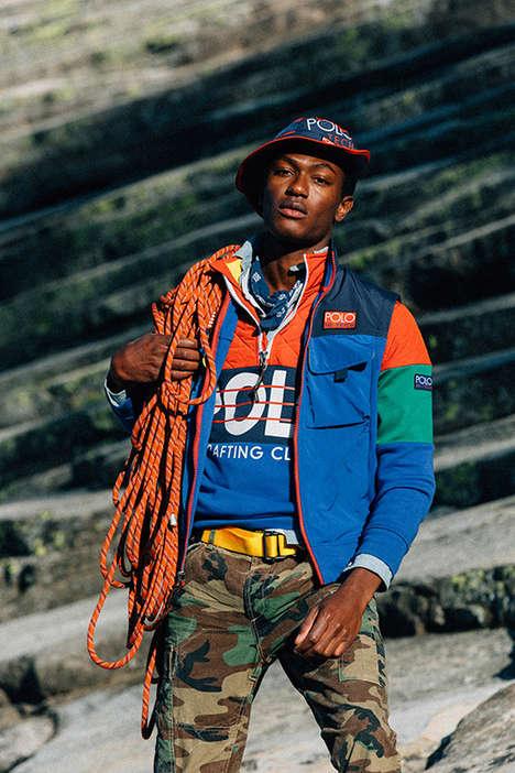 90s-Inspired Technical Sportswear
