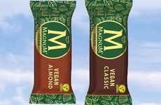 Vegan Ice Cream Bars - Magnum Releases a Vegan-Friendly Version of Its Classic & Almond Flavors