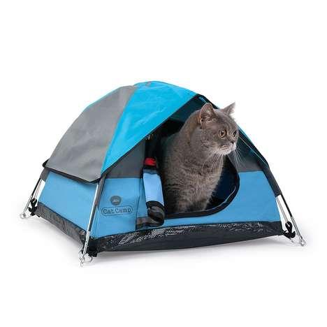 Miniature Feline-Friendly Tents