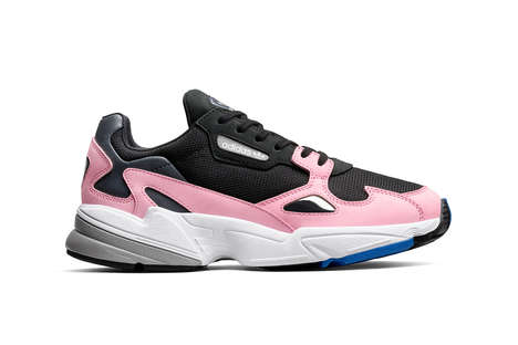 Revamped Retro Paneling Sneakers