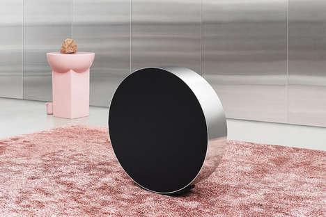 Stylish Circular Speakers