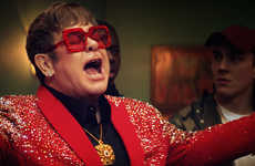 Rap Battle Confectionery Ads - This Snickers Advertisement Sees Sir Elton John Venture into Hip-Hop